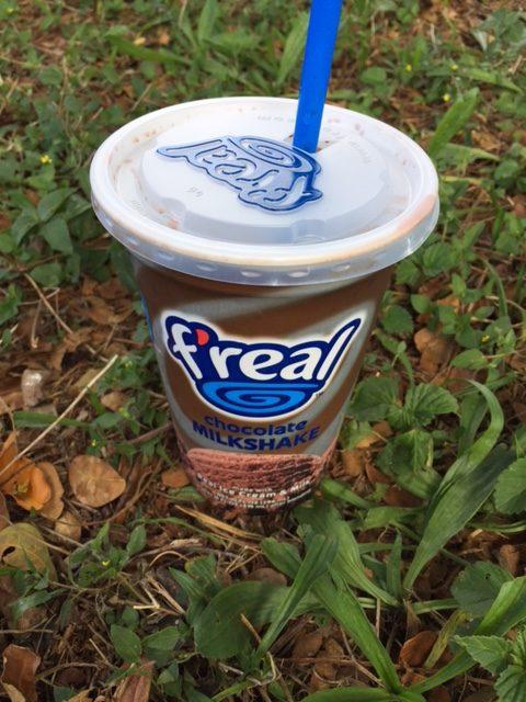 f'real milk shake